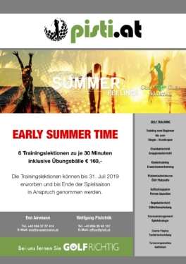 Early Summer Time 2019